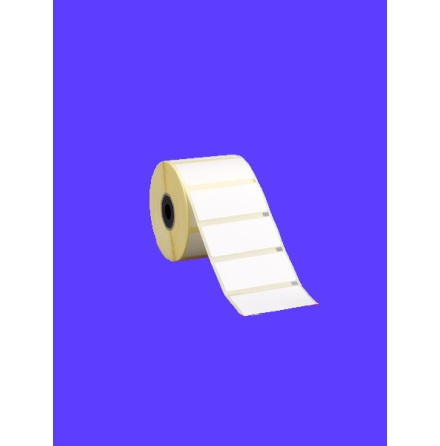 Självhäftande printeretikett / Vågetikett 30 x 15mm