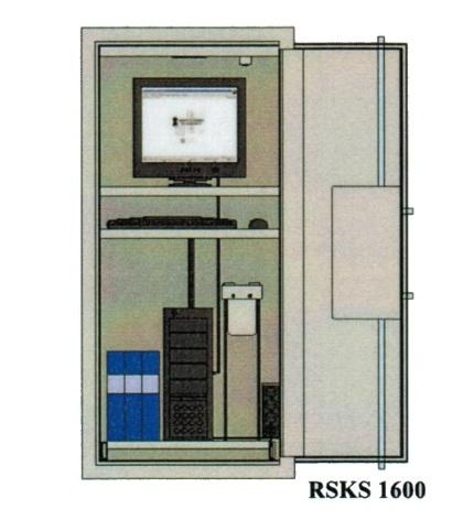 Säkerhetsskåp RSKS för servrar & datorer