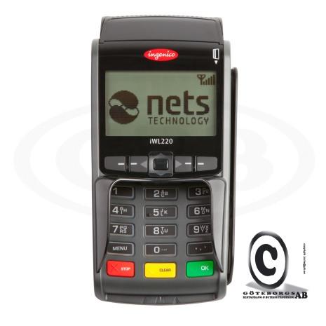 Nets Mobil Betalterminal iWL250B