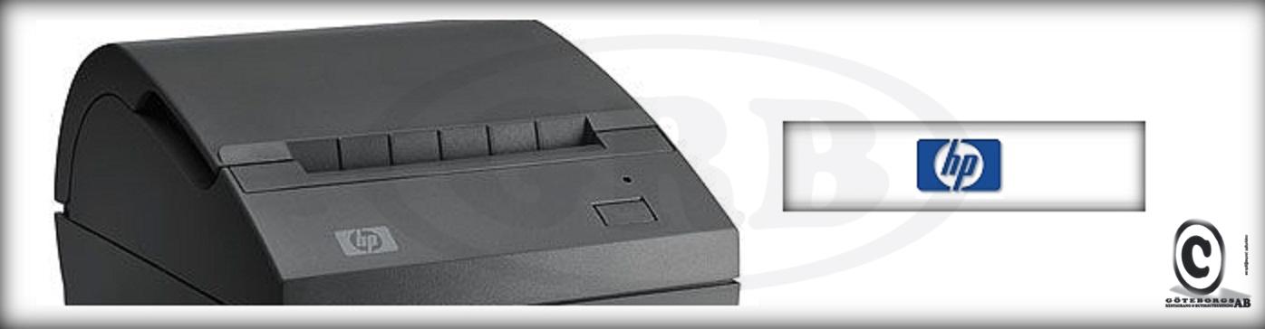 HP kvittoskrivare kvittorullar