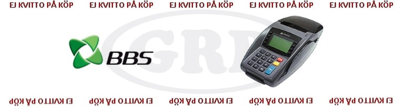 BBS Kontokortsrullar