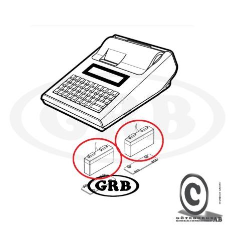 Batteri Sam4s ER-230