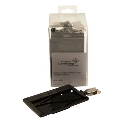 Magnetskortshållare, jojo monterad bak